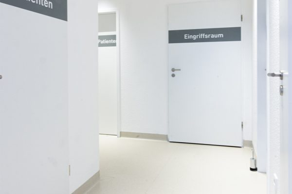 Praxisräume von Gynäkologe Dr. med. Stephan Born